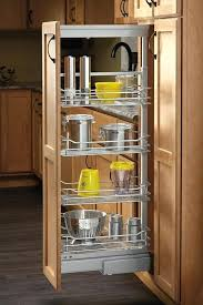 gap between fridge and cabinets creative ideas of slider storage amazing slide out pantry shelf