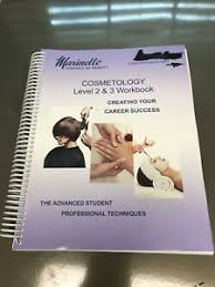 Details About Marinello School Of Beauty Cosmetology Workbook Levels 2 3 Used
