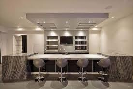 lighting for basement ceiling. Ceiling Ideas Home Bar Gray Natural Stone Countertops Basement Lighting For