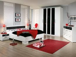 bedroom furniture black and white. interesting white gray impressive twin solid wave wood loft with modern furniture  accessories red rug carpet bedroom black and white