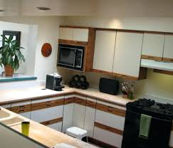 painting laminate cabinets ril before and after pictures formica kitchen white with wood trim