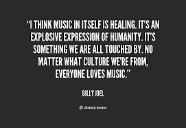 Quotes About Healing New Quotes About Healing From Music 48 Quotes