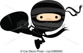 cute ninja clipart. Fine Ninja Ninja Kick In Cute Clipart G