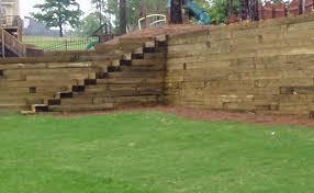 a well built retaining wall