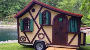 Small House On Wheels The Tudor Micro Cottage On Wheels By Woolywagons Amazing Small