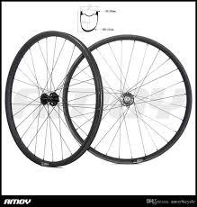 Mountain Bike Wheel Size Chart 650b Mountain Bike Carbon Wheelset Tapeless Tubeless Wheels 10s 11s Ud 3k Matte Glossy 30mm Wide 35mm Deep 15x100 12x142 Custom Mountain Bike Wheels