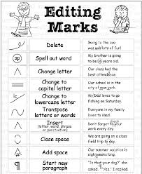 editing marks for writing for rd grade elementary editing marks editing marks for writing for 3rd grade elementary editing marks
