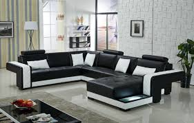 black leather living room furniture sets. sofa set living room furniture modern sectional leather and couches for black( black sets