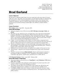 Job Objectives Sample Resume For Job Objectives Resume Templates Design