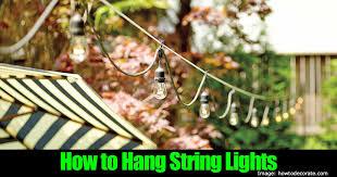 hang lighting. hang lighting