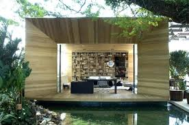 small outdoor office. Fascinating Small Outdoor Office Pod Indoor Library Home O