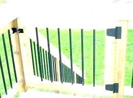 outdoor stair gate safety deck ideas decking materials and porch safe baby gates stairs for decks gate for deck stairs outdoor
