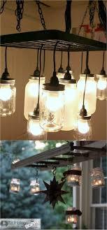 mason jar lighting fixture. Mason Jar Chandelier Hacks Mason Lighting Fixture