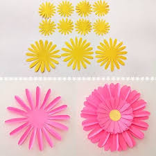 Daisy Paper Flower How To Make Beautiful Paper Daisy Flowers 6 Steps With