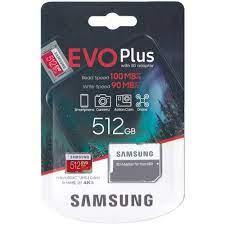 Thẻ Nhớ Micro SDXC Samsung Evo Plus 512GB U3 100MB/s (Box Anh New 2020) -  Hàng nhập khẩu - Thẻ Nhớ Điện Thoại