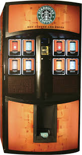 Starbucks Vending Machine Enchanting Battle For Coffee Vending Superiority Canadian Vending