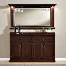 Slim Line Home Back Bar Storage Cabinet