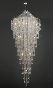 il30776 inina tall 12 light crystal chandelier