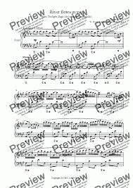 Download and print river flows in you sheet music for easy piano by yiruma from sheet music direct. River Flows In You Download Sheet Music Pdf File