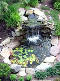 Small Picture Small Backyard Pond Designs maternalovecom