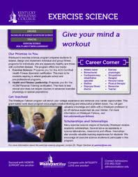 Careers With Exercise Science Degree Associates Degree Associate Degree Kinesiology And Exercise