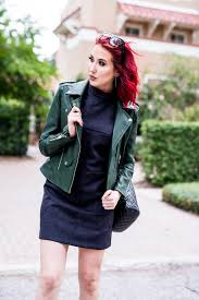 Green Leather Jacket My Favorite Booties Jaclyn Hill