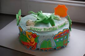 Nickel Anet Cakes The Dinosaur Train Cake