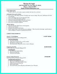 Waiter Resume Food Service Growth Restaurant Head Description For