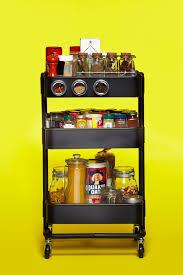 The IKEA RSKOG Cart as Spice Rack