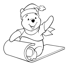 Pooh Bear Coloring Book Pages Color Bros