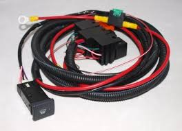 land rover defender heated front screen wiring kit complete land rover defender heated front screen wiring kit complete oem switch yug000460lnf puma td4 td5 three wire screen