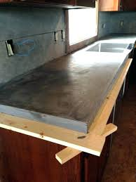 diy concrete countertops poured in place how to build concrete forms as well as pour in diy concrete countertops