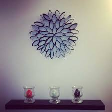 Lovely Ideas Homemade Wall Decoration Ideas For Bedroom 30 Homemade Toilet  Paper Roll Art For Your Wall Decor