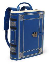 a literal book bag