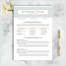 Professional Resume Template Cv Template For Ms Word Creative Resume Modern Resume Design Resume Instant Download