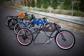 vintage inspired e bike custom made in barcelona vintage