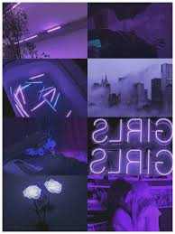 Edgy Aesthetic Purple Wallpaper
