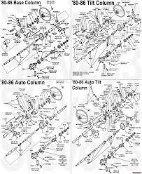 1983 ford bronco diagrams picture supermotors rh supermotors gm steering column parts breakdown gm