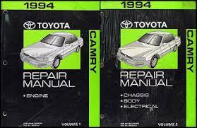 1994 toyota camry wiring diagram manual original 1994 toyota camry repair shop manual original 2 vol set 139 00