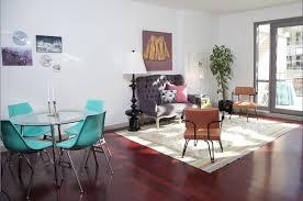 omaha grey settee living room midcentury with wood floor area rugs art work