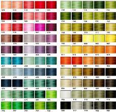 All Inclusive Sulky Embroidery Thread Conversion Chart Sulky