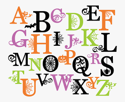 Halloween Alphabet Letters Free Halloween Letters To Print