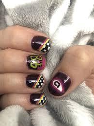 Nascar Nail Art Designs Jimmie Johnson Nascar Nails Nails Nascar Nails Jimmy Johnson