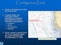 Digital Maritime Zones And National Baseline On Noaas