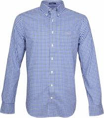 Gant Gingham Shirt Blue Check 3046700 Order Online Suitable