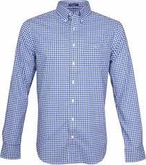 Gant Gingham Shirt Blue Check 3046700 Order Online Suitable