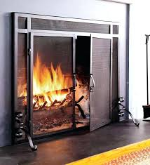 fireplace safety screen s sfety s gas fireplace attachable safety screen