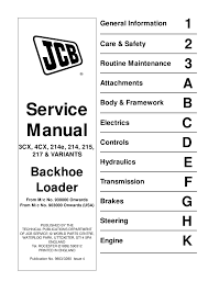 8104050 jcb 3cx 4cx 214e 215 217 service repair workshop manual 8104050 jcb 3cx 4cx 214e 215 217 service repair workshop manual transmission mechanics electrical connector