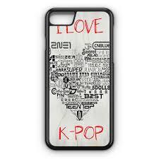 I lOve Kpop iPhone X Case CASESHUNTER