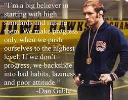 Dan Gable Quotes Beauteous Dan Gable And The Ten Commandments Of Wrestling Vermont Wrestler